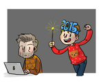 happy 2015 - brooker and finnemore by dongpeiyen1000