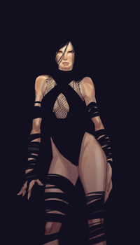 Psylocke by UltimateTattts