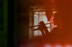 Trumpet Player by InjectedSmiles