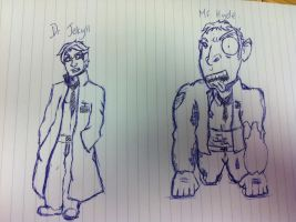 Dr Jekyll and Mr Hyde by devlin2010