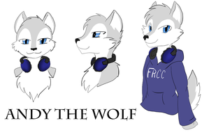 Andy the Wolf by DarkDreamingBlossom