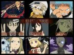 Soul Eater Characters Collage by DarkusDialga