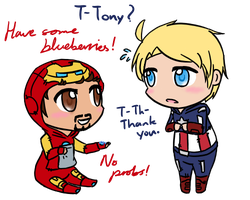 Iron Baby and Baby Captain by FudoMasaru-Daichi