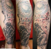 apocalyptic priest by SimplyTattoo