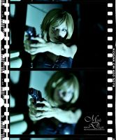 Parasite Eve - The Gun by maverickdelta