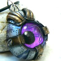 The Steampunk Eye by DesertRubble