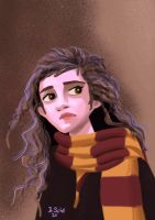 Hermione Granger by Bas0411