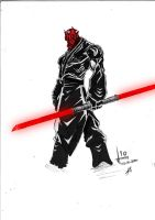 darth maul by szhaddad2
