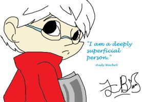 Andy Warhol by That-Wacky-Whovian