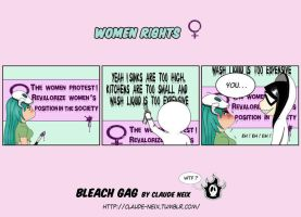 Women Rights - Bleach gag by Cristina-Rodriguez
