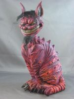 Cheshire Cat Painted 1 by Blairsculpture