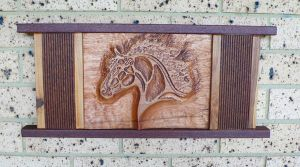 Carved Celtic Horse by ianmcleod9
