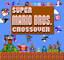 Ultimate Super Mario Bros. Crossover by MushroomHedgehog