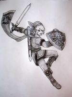 Soldier of Hyrule by TheCloudchaser