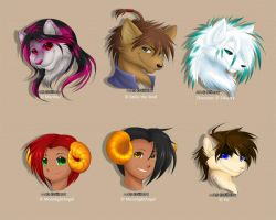 Headshots - 02 by Silberry