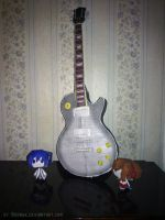 Electric Guitar papercraft by Bronwe
