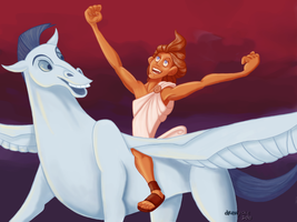 Hercules - Go the Distance by drewsefske