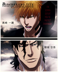 Bleach 475 Ichi vs Ginjo by mindzor