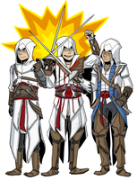 Assassin's Creed - Three musketeers by kinozie