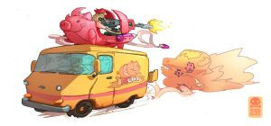 Meatwagon by RobinKeijzer