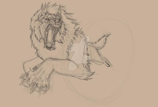 Wurger WIP by LycanthropeHeart