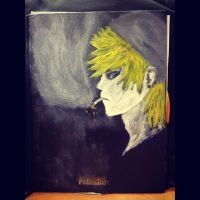 Sketchbook Cover-Roxas by kankrivanbooty