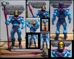 Filmation Skeletor MOTUC by Derrico13