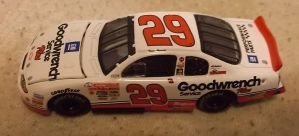 2001 Kevin Harvick #29 Goodwrench Chevy car by Chenglor55