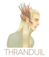 The Hobbit: Thranduil by teaforwolf