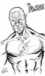 The Flash Sketch by aldoggartist2004