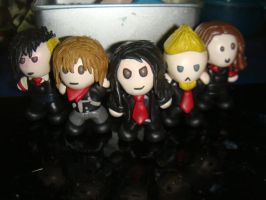 chibi chemical romance by slipkrich