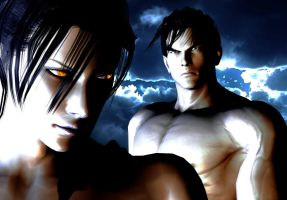 Mother and Son - Unknown with Jin Kazama by ShannyYums