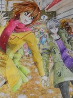 Vampire Knight: Christmas shopping by 28maeko