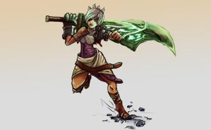 Riven the Exile by evilpacman3