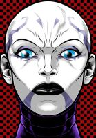Asajj Ventress by Thuddleston