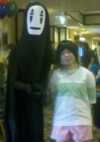 chihiro and no-face :33 by shayminlover492