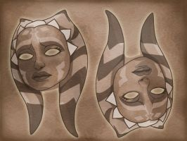 Ahsoka Masks, The Game by The-First-Magelord