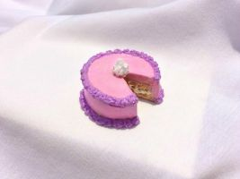Birthday Cake Pendant by PudgyPumpkinSpice