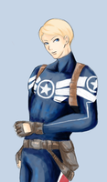 Captain Rogers by ni-nnin