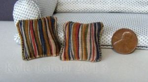 Dollhouse Striped Throw Pillow Set by Kyle-Lefort