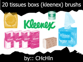 kleenex brushs by chchln
