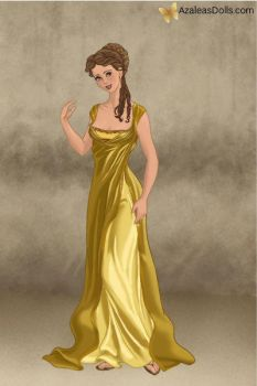 Belle - Roman Lady by IndyGirl89