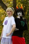 Lalonde and Maryam by terminallycarcin0