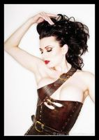 Darenzia in Gula Corset by AntisepticFashion