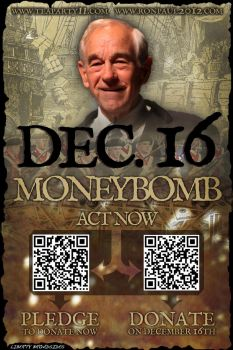 Ron Paul's December 16th Moneybomb by LibertyBroadsides