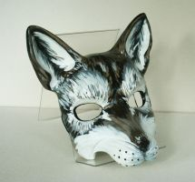Resin Wolf Mask by nondecaf
