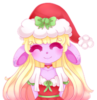 Holiday Dalia by NekoCakeArt