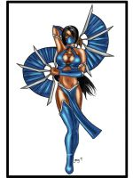 MK Ladies-Kitana. by OneWingedAngel75