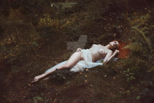 Forest Nymph Rest by Bajgraf