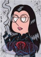 Meg as The Baroness by ElainePerna